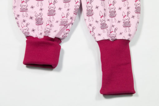 Jerseyhose Hase rosa